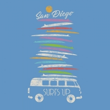 SM120 SURF BOARD BUS