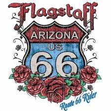 RT 66 FLOWER SIGN