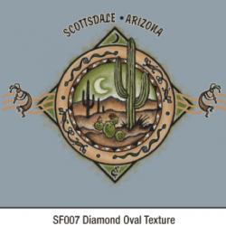 sf007 Diamond Oval