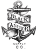 Black Anchor Supply Co Logo