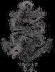 Black Anchor Supply Co Logo