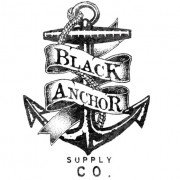 Allchalkboards's Competitor - Black Anchor Supply Co logo