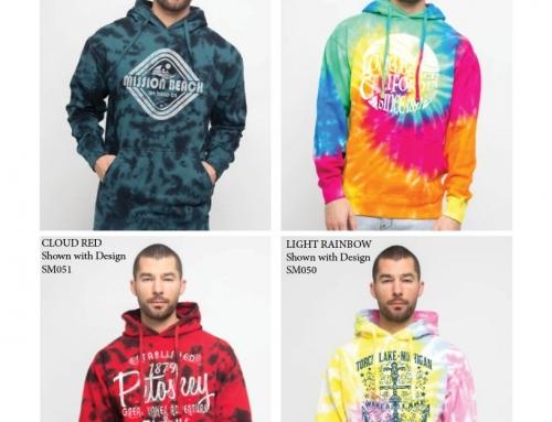 Tie-Dye Hooded Sweatshirts MH13107
